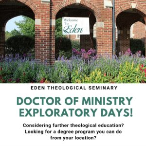Doctor of Ministry Exploratory Days