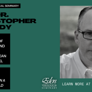 """Rev. Dr. Christopher Grundy and """"Recovering Communion in a Violent World"""""""